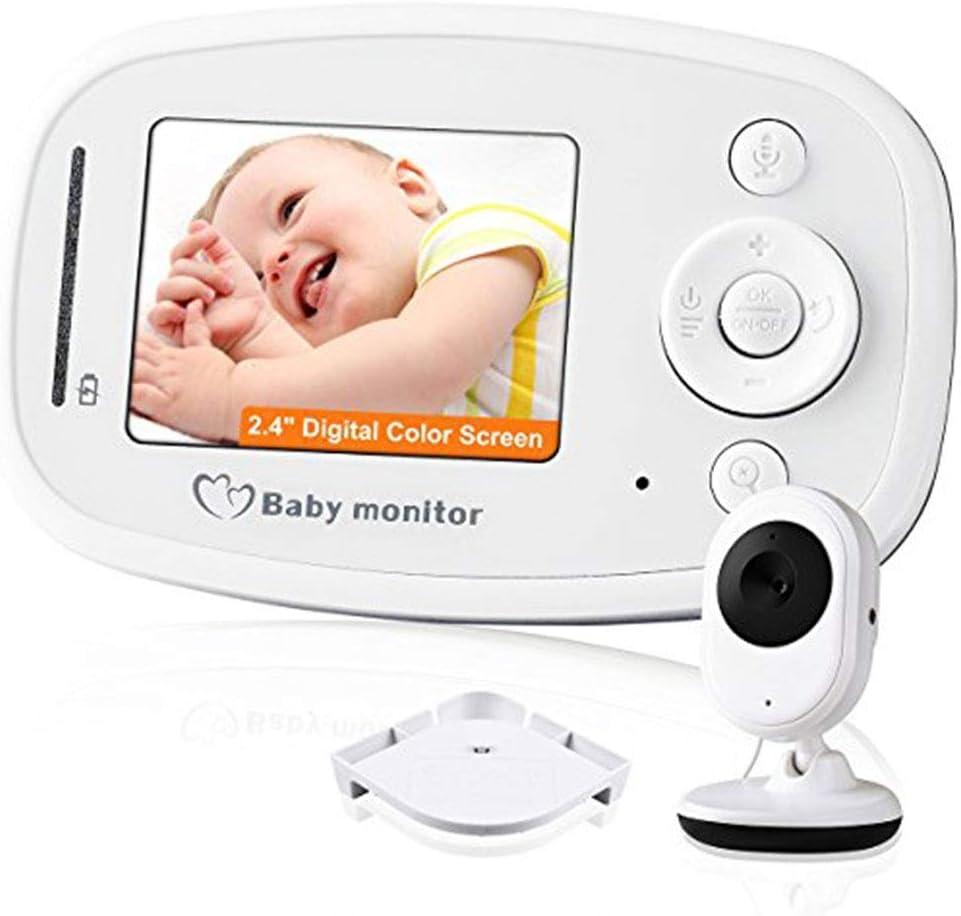 SWEET Monitor De Bebé con 2 Cámaras Vtech Adopta Una Pantalla LCD De Transmisión De Frecuencia De 2.4GHz con Función De Monitoreo En Tiempo Real