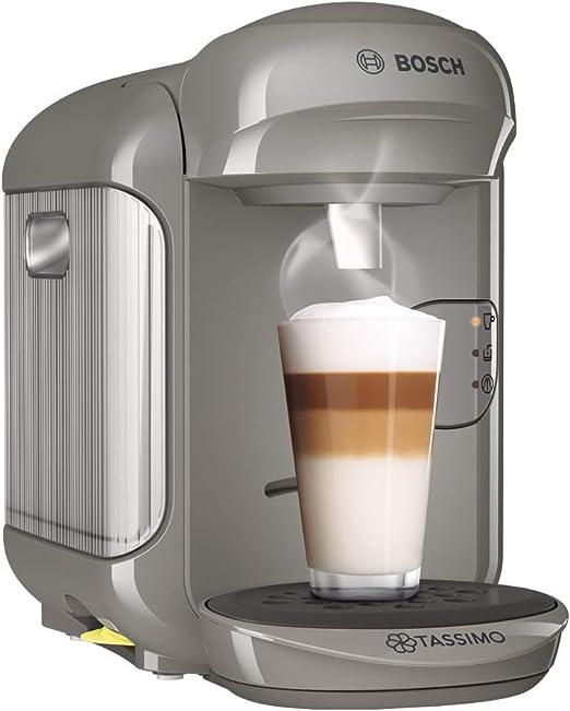 Bosch Tassimo Vivy 2 Cafetera Cápsulas, 1300 W, 0.7 Litros, Aluminio, Gris Arena/ Antracita: Amazon.es: Hogar