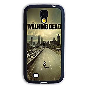TPU Samsung Galaxy S4 case protective skin cover with hot TV The Walking Dead cool poster design #7