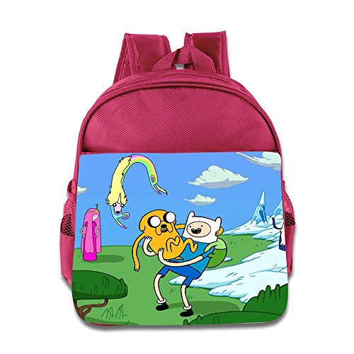 [Kids Adventure Time School Backpack Style Baby Boys Girls School Bags Pink] (Power Rangers Megaforce Halloween)