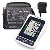 LotFancy Blood pressure machine, Large BP Cuff (11.8-16.5''), Digital Sphygmomanometer, FDA Approved