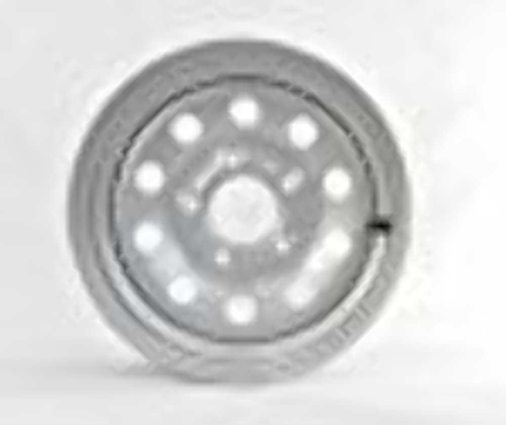15'' Silver Mod Trailer Wheel (5x4.5) Bolt Circle