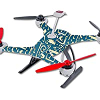 Skin For Blade 350 QX3 Drone – Deco Fish | MightySkins Protective, Durable, and Unique Vinyl Decal wrap cover | Easy To Apply, Remove, and Change Styles | Made in the USA
