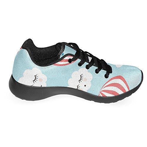 Running Clouds 1 Sleeping Womens Air Cute Smiling Shoes and Jogging Running Sneaker Balloons Easy Multi Hot Casual Go Lightweight Sports Walking Comfort InterestPrint PBqadxa