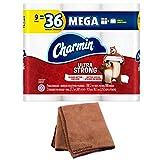 Charmin Ultra Strong Toilet Paper (Packaging May Vary), 9 Mega...