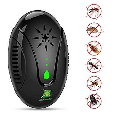 Aceirst Ultrasonic Pest Repeller for Pest Control, 3 in 1 Electronic Bug Repellet Plug-in Indoor. Repel Mice Mosquitoes Bugs Roaches Ants Spiders Rats Bats Birds Flies Fleas Rodents and Insects