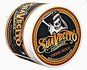 Suavecito Pomade Strong Hold for Men, 4 Ounce