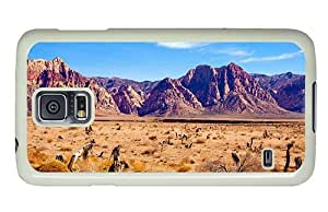 Hipster Samsung Galaxy S5 Case customizable cases nevada desert PC White for Samsung S5