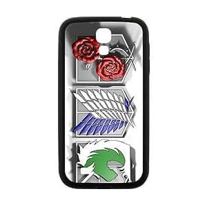 Attack On Titan Design Fashion Comstom Plastic case cover For Samsung Galaxy S4 in GUO Shop