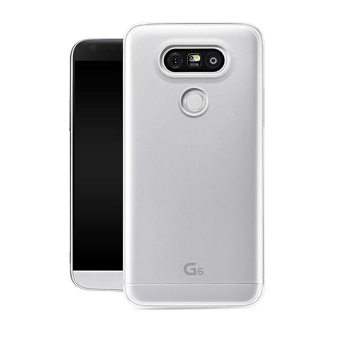 3 opinioni per LG G6 Custodia,Frlife LG G6 Custodie in TPU silicone Case Cover Shock-Absorption