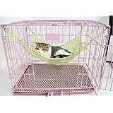 【C.C-br】 猫 小動物 用 メッシュ ハンモック キャットハンモック ベッド ハンドタオル 付き