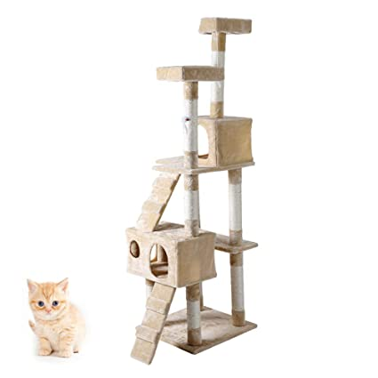 Árbol para Gatos, 5 Niveles 3 Plataformas Grande Gatos ...