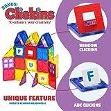 Playmags 100-Piece Colorful Tile Set, Unique