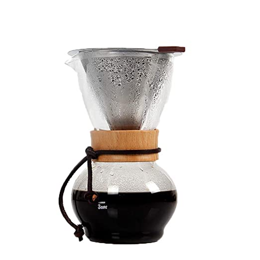 Filtro de goteo Cafetera de mano Mano de café Cafetera de goteo ...