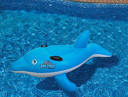 Swimline Dolphin Stable Pool Float (Inflatable Pool Dolphin)
