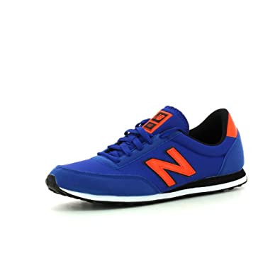 85e8ba6f481c0 New Balance Men's U410 Clasico Sneakers Blue Size: 6: Amazon.co.uk ...