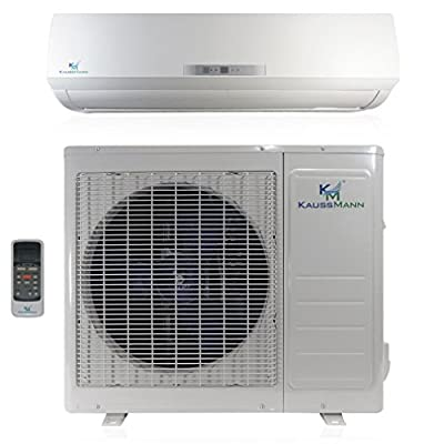 12000 Btu (1 Ton) 20 SEER Mini Split Air Conditioner Inverter Ductless System & Heat Pump, Heating, Cooling, Dehumidification, Ventilation. Comes with 15 Feet Installation Kit. 110~120 VAC
