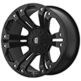 XD Series by KMC Wheels XD778 Monster Matte Black Wheel (18x9