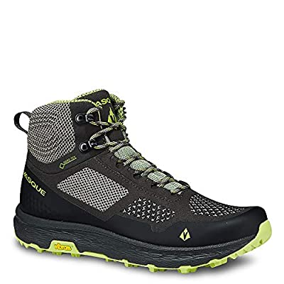 Vasque Women's Breeze LT Low GTX Gore-Tex Waterproof Breathable Hiking Shoe, Beluga/Basil, 11 M | Hiking Shoes