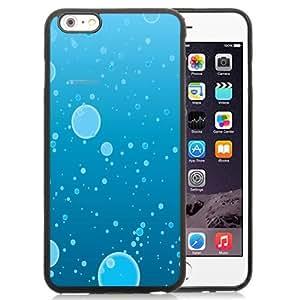 NEW Unique Custom Designed iPhone 6 Plus 5.5 Inch Phone Case With Water Bubbles Illustration_Black Phone Case