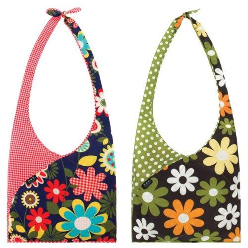 Envirosax Set of 2 Slingsax Bag, Gingham & Dot