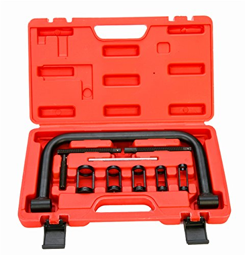 Motorcycle Valve Spring Compressor - 8milelake AUTO Solid Valve Spring Compressor Automotive Tool Set Repair Tool Kit