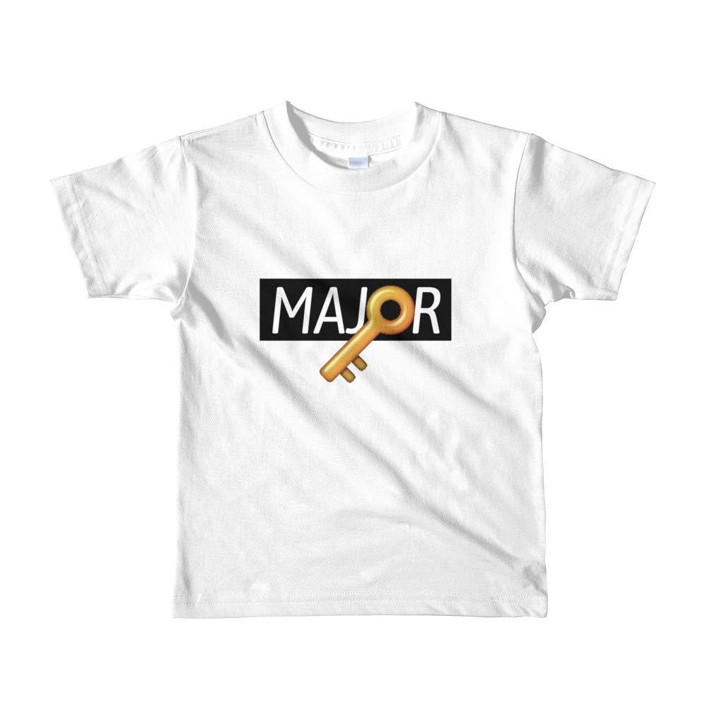 Uristocrat Major Key Boy Girl Tops Toddler Short Sleeve Kids t-Shirt