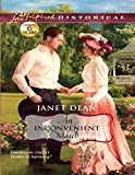 Front cover for the book An Inconvenient Match by Janet Dean