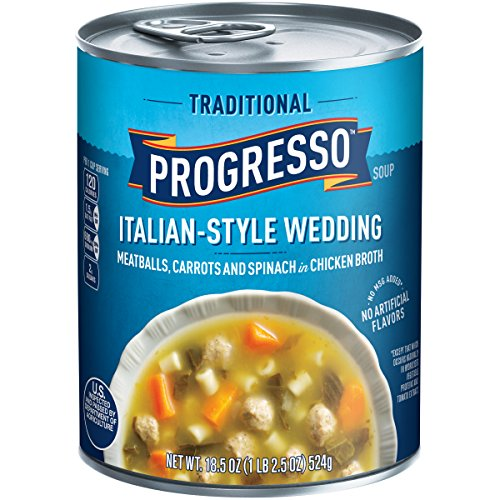 Progresso Traditional Soup  ItalianStyle Wedding  185 oz
