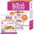 Bitsy's Organic Graham Crackers | Tree Nut and Peanut Free | Vitamin and Mineral Filled Snacks for Kids - 6 Pack