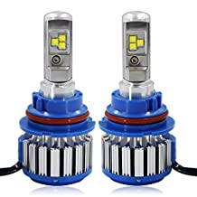 RCP - 9007(HB5) - LED Headlight CREE Bulbs Conversion Kits + Canbus (1 Pair)- 80W 7200Lm White(6,000K) - 2 Year Warranty
