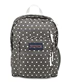 JanSport Backpack Big Student Backpack - SHADY GREY-WHITE DOTS Deal (Small Image)