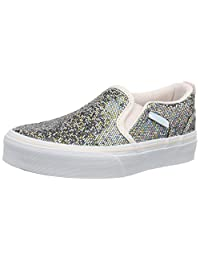 Vans Asher Glitter Youth Multi Textile Trainers