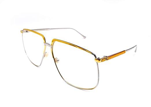 Amazon.com: Gucci GG 0365S 001 - Gafas de sol (metal, lentes ...