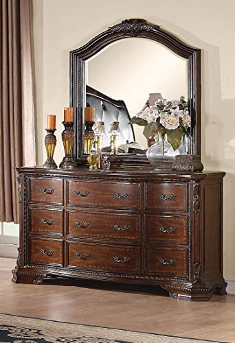 Coaster Home Furnishings Maddison 9-Drawer Dresser Cappuccino