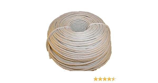 320ft Kraft Brown for Craft Weaving Chairs Ladderbacks 5//32 Fiber Paper Rush Coil
