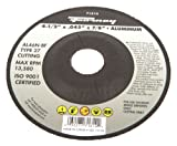 Forney 71814 Cut-Off Wheel with 7/8-Inch Arbor, Aluminum Type 27, AL46N-BF, 4-1/2-Inch-by-0.45-Inch
