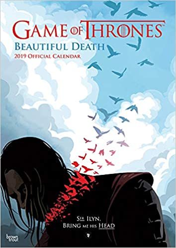 Game Of Thrones Beautiful Death 2019 A3 Amazon De Browntrout Uk