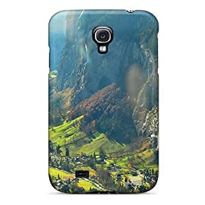TSFVnnb4890VqClP Faddish Magnificent Valley In Switzerl Case Cover For Galaxy S4