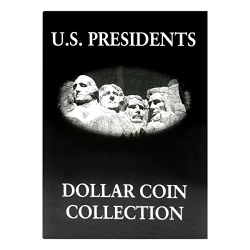 Us Presidents Dollar Coins - US Presidents Dollar Coin Collection Album