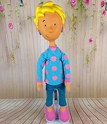 Patti Mayonnaise Doug Nickelodeon Doll Vinyl Plush 20 Vtg Rare Rubber Face