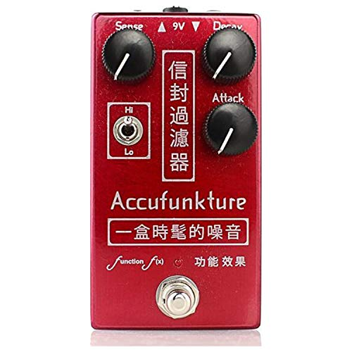 Function f(x) Accufunkture Auto-Wah Envelope Filter Pedal