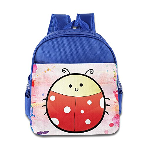 Price comparison product image Cute Puffy Animals Insect Beetle Kids School Backpack