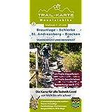 MTB Trail-Karte Harz: Braunlage – Schierke – St. Andreasberg – Brocken: Nr.2 | Wasser- und reißfeste Mountainbike-Karte