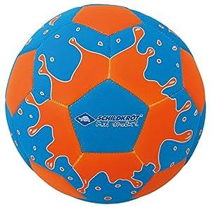 Schildkröt Funsports Beachball Beachsoccer mit Pumpe, Blau, 5, 970179