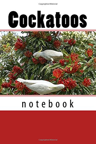 Download Cockatoos: 150 page lined notebook ebook