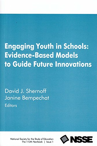 Engaging Youth in Schools: Evidence-Based Models to Guide Future Innovations
