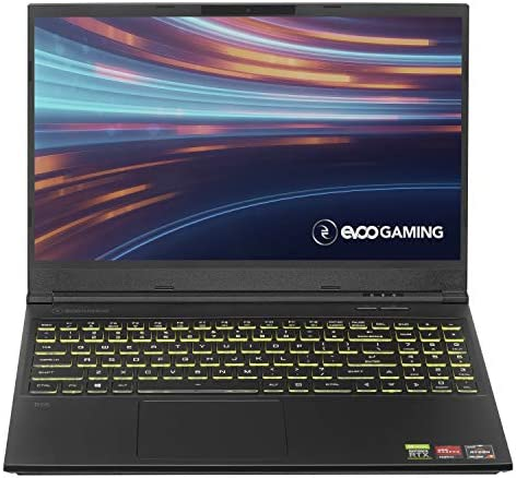 "Evoo Gaming 15.6"" Laptop, FHD, 120Hz, AMD Ryzen 7 4800H Processor, NVIDIA GeForce RTX 2060, THX Spatial Audio, 512GB SSD, 16GB RAM, RGB Backlit Keyboard, HD Camera, Windows 10 Home, Black (EG-LP7-BK)"