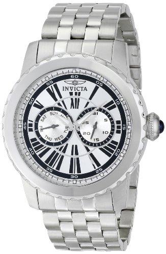 Invicta Men s 14586 Specialty Analog Display Swiss Quartz Silver Watch