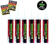 Green Glue Noiseproofing Sealant pack of 6 Tubes